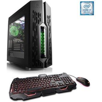 CSL Gaming PC, Intel Core i7-9700K, RTX 2060, 16 GB RAM, SSD HydroX T5780 Wasserkühlung