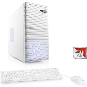 CSL Multimedia PC, AMD A8-9600, Radeon R7, 8 GB DDR4 RAM, SSD Sprint T4881 Windows 10 Home