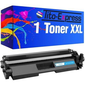 Tito-Express PlatinumSerie Tonerpatrone ersetzt HP Toner CF217A CF 217 A 17A Black