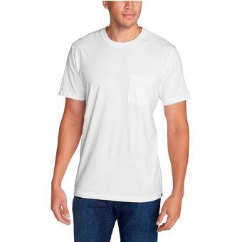 Eddie Bauer T-Shirt Legend Wash Pro Kurzarm mit Tasche