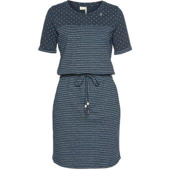 Ragwear Shirtkleid NUGGIE Streifen-Design trifft auf Dots