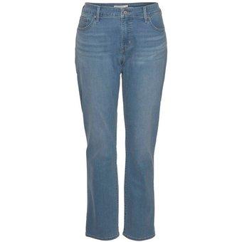 Levi s Plus Straight-Jeans 314 High Waist mit Shaping Effekt