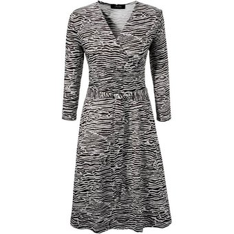 Aniston SELECTED Jerseykleid im Animal-Print