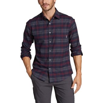 Eddie Bauer Funktionshemd On the Go Signature Twill