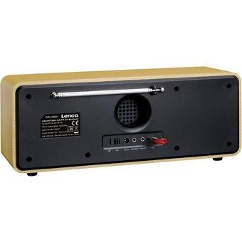 Lenco Lenco Internetradio mit USB DIR-150 braun Radio
