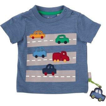 Sigikid Baby T-shirt für Jungen, Autos, Organic Cotton