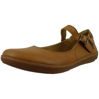 El Naturalista N5605T Cross Friendly Camel Sneaker Ballerinas