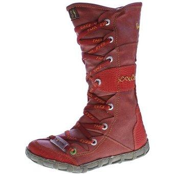 TMA Leder Stiefel TMA 2088 Winter Schuhe gefüttert Stiefel Gefüttert, Reptil-Print, Used Look