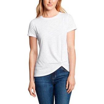 Eddie Bauer T-Shirt Gatecheck Twist Front Kurzarm