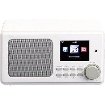 Lenco Lenco Internetradio mit USB DIR-100 weiss Radio