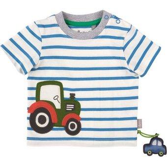 Sigikid Baby T-Shirt für Jungen, Traktor, Organic Cotton