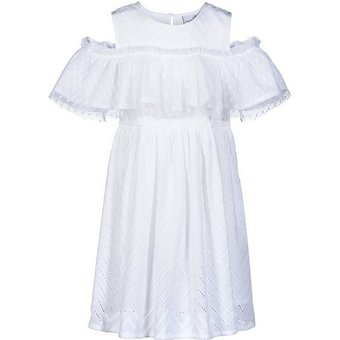 happy girls Kinder Kleid Off-Shoulder