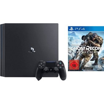 PlayStation 4 Pro PS4 Pro Bundle, inkl. Tom Clancy s Ghost Recon Breakpoint