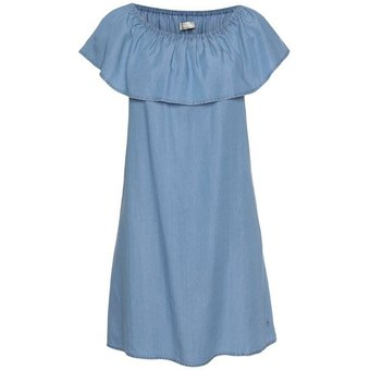 Tamaris Off-Shoulder-Kleid mit Volant