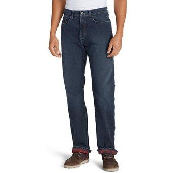 Eddie Bauer 5-Pocket-Jeans Flex mit Flanellfutter Straight Fit