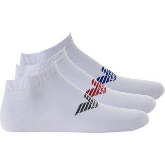 Emporio Armani Sneakersocken Herren Sneakersocken, 3er Pack grosses Logo