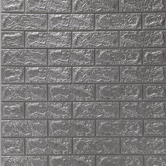 DTC GmbH 3D-Tapete 3D Tapete Selbstklebend Wandpaneele , 3D, Backstein, 6 St , 77 x 70 cm Selbstklebend Wandpaneele Wasserfest Ziegel Steinoptik Wandtattoo Wandaufkleber Anti-Kollision Möbelfolie für Schlafzimmer Wohnzimmer Hintergrund TV Decor