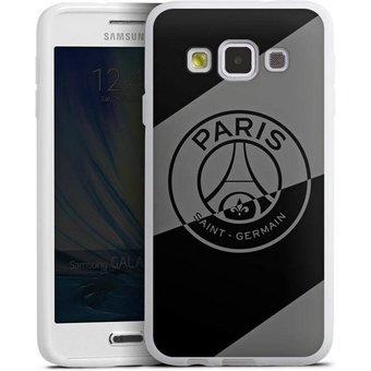 DeinDesign Handyhülle Dark Layer PSG Samsung Galaxy A3 2015 , Hülle Logo PSG Paris Saint-Germain