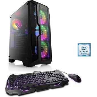 CSL HydroX T5311 Wasserkühlung Gaming-PC Intel Core i7, GTX 1650, 16 GB RAM, 1000 GB SSD, Wasserkühlung
