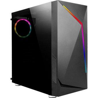 Hyrican Onyx SET2026 Gaming-PC 24 Zoll, AMD Ryzen 3, Radeon Vega 8, 16 GB RAM, 960 GB SSD, 2-tlg, inkl. Office-Anwendersoftware Microsoft 365 Single im Wert von 69 Euro