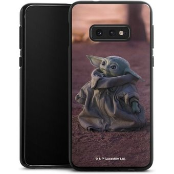DeinDesign Handyhülle Star Wars The Child looking up Samsung Galaxy S10e, Hülle Star Wars The Child Baby Yoda