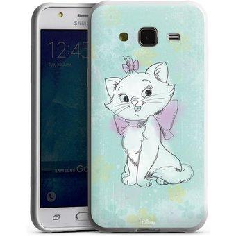 DeinDesign Handyhülle Marie Watercolor Samsung Galaxy J5 2015 , Hülle Aristocats Marie Disney Offizielles Lizenzprodukt