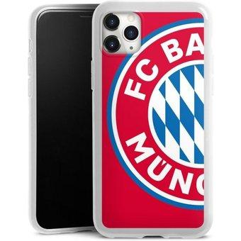 DeinDesign Handyhülle grosses FCB Logo Rot Apple iPhone 11 Pro Max, Hülle FC Bayern München Offizielles Lizenzprodukt FCB