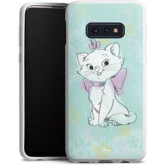 DeinDesign Handyhülle Marie Watercolor Samsung Galaxy S10e, Hülle Aristocats Marie Disney Offizielles Lizenzprodukt