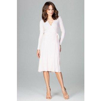 LENITIF Blusenkleid im eleganten Look K465