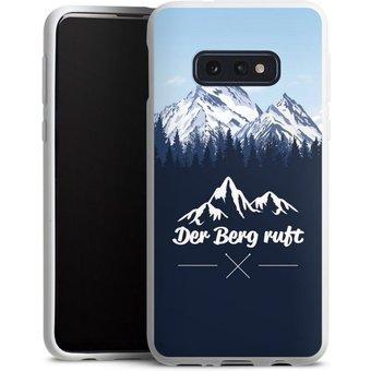 DeinDesign Handyhülle Winterparadies Samsung Galaxy S10e, Hülle Wanderlust Berg Himmel