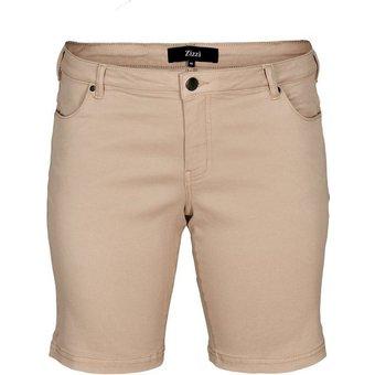 Zizzi Shorts Damen Shorts Grosse Grössen Kurze Hose Regular Fit Casual Sommerhose
