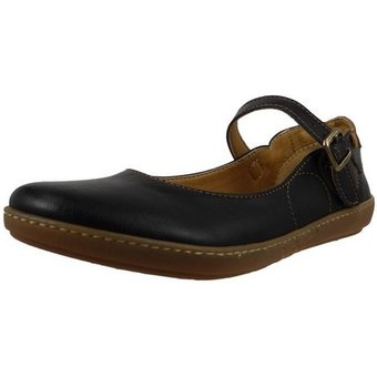 El Naturalista N5605T Cross Friendly Black Sneaker Ballerinas