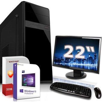SYSTEMTREFF Office Komplett PC AMD Carrizo Processor FX-8800, Radeon HD R7 max. 4GB HyperMemory, 8 GB RAM, 500 GB HDD