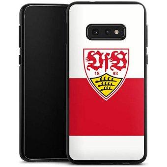 DeinDesign Handyhülle VfB Stuttgart Brustring Samsung Galaxy S10e, Hülle VfB Stuttgart Offizielles Lizenzprodukt Logo