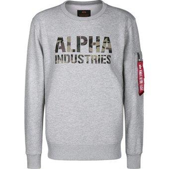 Alpha Industries Sweatshirt Camo Print