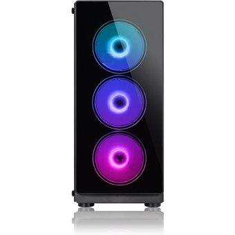 Megaport Gaming-PC Intel Core i7-9700F 8x3,00 GHz, GeForce GTX 1650, 16 GB RAM, 1000 GB HDD, 480 GB SSD, Windows 10 Home, WLAN
