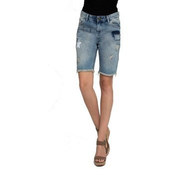 Zhrill Jeansshorts Leni Zhrill Damen Shorts Jeans Denim 5 Pocket Vintage Slim Fit Leni