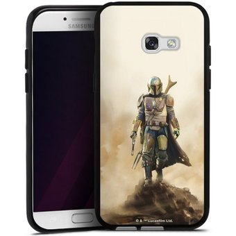 DeinDesign Handyhülle The Mandalorian Rock Samsung Galaxy A5 Duos 2017 , Hülle Star Wars Film The Mandalorian