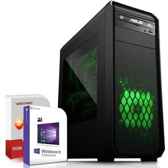 SYSTEMTREFF Gaming PC AMD A8 9600, Radeon HD R7, 8 GB RAM, 1000 GB HDD