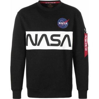 Alpha Industries Sweatshirt Nasa Inlay