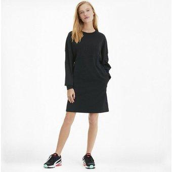 PUMA Sweatkleid Downtown Statement Damen Kleid