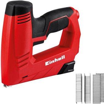 EINHELL Elektro-Tacker TC-EN 20 E , Inkl. 1000 Klammern und 500 Nägeln
