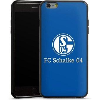 DeinDesign Handyhülle FC Schalke 04 Blau Apple iPhone 6 Plus, Hülle FC Schalke 04 Offizielles Lizenzprodukt S04