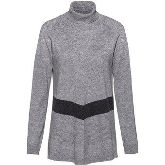 Alba Moda Pullover in edlem Material-Mix