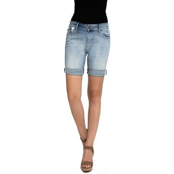 Zhrill Jeansshorts Sharona Shorts Zhrill Damen Shorts Mom Jeans Denim 5 Pocket Vintage Slim Fit Sharona