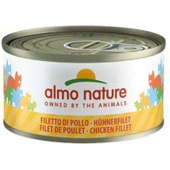 Almo Nature Cat Megapack Hühnerfilet 24x70g