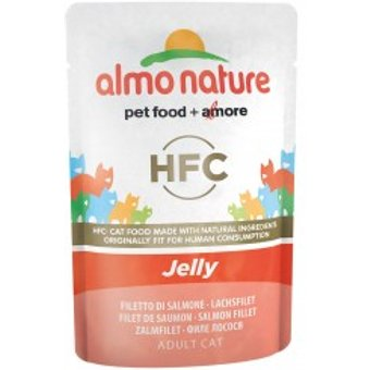 Almo Nature HFC in Jelly Lachs 24x55g