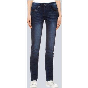 Alba Moda Jeans mit Bauchweg- und Push-up-Funktion