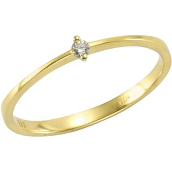 Orolino Ring 585 Gelbgold Brillant
