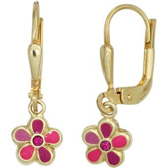 JOBO Paar Ohrhänger Blume